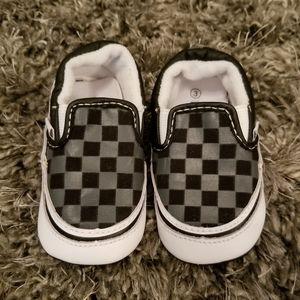 Vans infant shoes size 3